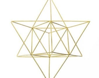 Stella Tree Topper/mobile - Large Stellated Octahedron