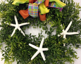 Beachy Wreath for Anytime/Anywhere
