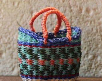1:12th Scale Woven Beach Bag