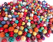 Jewelry colored beads