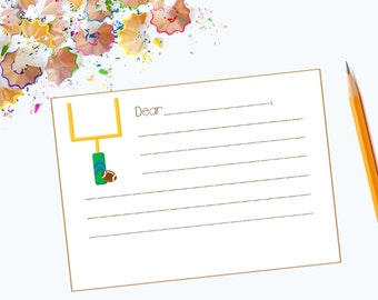 Kids' Football Flat Note Cards