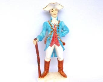 VINTAGE Civil War SOLDIER FIGURINE