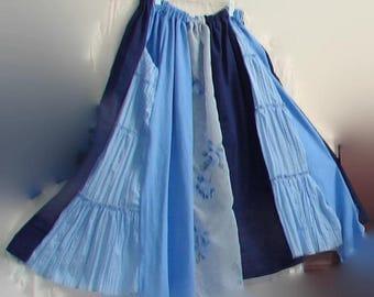 Ready 2 Ship patchwork skirt hippie skirt boho skirt bohemian skirt gypsy skirt festival skirt tribal skirt boho wedding patchwork skirt