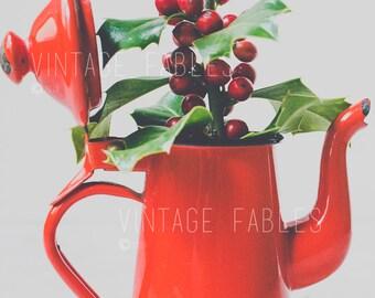 Christmas Stock Photo, Christmas Mockup, Social Media Photo, Instagram Photo, Styled Stock Photography, Holiday Mockup, Christmas Holly