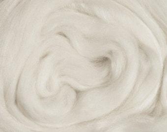 RawCo. Merino Tussah Silk Blend Luxurious Combed Top Roving