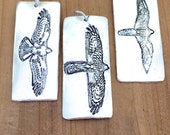 Keychains for Men - Personalize Keychain - Bird of Prey Key Fob - Key Ring - Bird Gift - Nature Lover Gift - Mens Accessories -