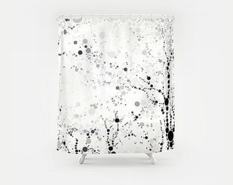 Made In Central Park Circle Art Shower Curtain