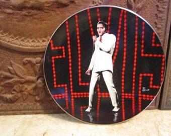 Vintage 'Elvis Presley','If I Can Dream' porcelain collector plate by Delphi!