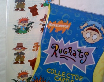 Rugrats Trading Cards and Sticker Set- Set #2