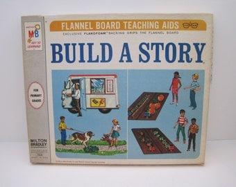 Milton Bradley Build A Story