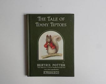 The Tale of Timmy Tiptoes by Beatrix Potter   children's classics vintage book   Beatrix Potter children's books