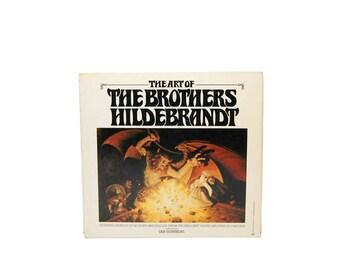 1979 The Art Of The Brothers Hildebrandt Fantasy Art Mythological Full-Color Prints 70s Vintage LOTR Illustrations Hobbit