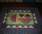 Thimbleberries Melon Slice Table Runner - Unfinished