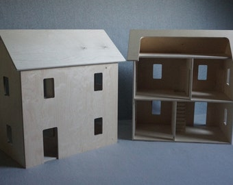 Wooden Toy Doll House