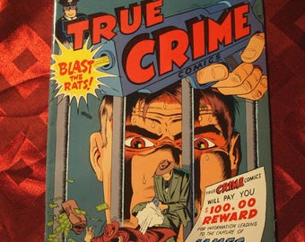 Mr Monster's True Crime Eclipse No 2 Jack Cole Michael Gilbert 1986 Mystery Mob Mounties Detective Fantastic Art Color Graphics Illustration