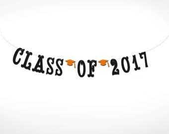 Class of 2017 Graduation Banner // College Graduation // High School Graduation // Class of 2017 //