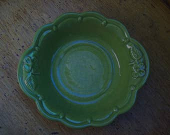 Beauce dish, Beauceware soucoupe, made in Quebec, Canada