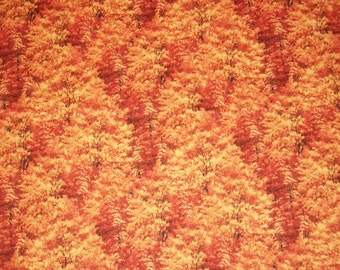 Quilting Fabric, By The Yard, Wilmington Prints, Sewing Fabric, Bringing In The Harvest Collection, Fall Fabric, Autumn Fabric, Tree Fabric