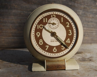 Westclox Baby Ben Alarm Clock, Vintage Alarm Clock, Desk Clock, As-Is