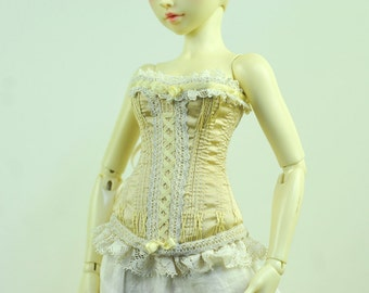 Cupcake Kiss BJD Antique Line Raouken Corset for Fairyland Minifee MSD BJD Doll