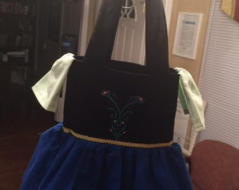 Anna inspired Tote Bag/Purse