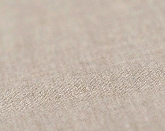 Natural linen fabric Natural fabric Pure linen flax fabric by half yard Flax grey color Sold by half yard