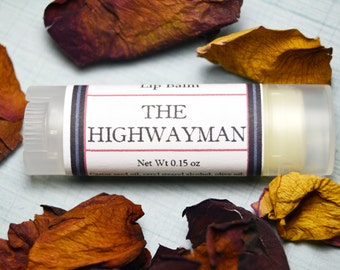 The Highwayman Lip Balm - Spicy Cinnamon, Clove, Blood Orange & Ginger