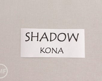 12 Inch End of Bolt Remnant Shadow Kona Cotton Solid Fabric from Robert Kaufman, K001-457