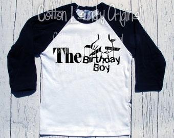 Birthday Boy tee shirt for the hipster kid Happy Birthday Boys tee shirt