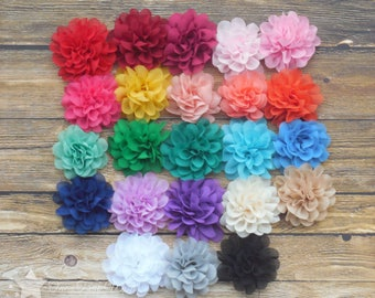Flower hair clips, Pick 2, hair flower, baby hair clips, baby hairclip, baby girl hair clip, hair clip, infant hair clip, girl hair clip,