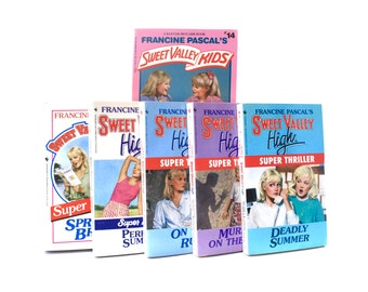 Sweet Valley High Book Collection Francine Pascal 9 Books