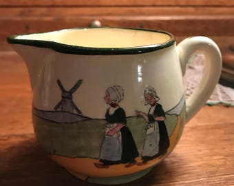 Vintage MAAC Dutch Girl Themed Creamer