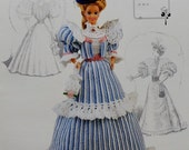50%OFF Annie's Attic The Gibson Girl Collection of the Gay Nineties MISS MAY 1994 Calendar Bed Doll Society Fashion Doll Crochet Pattern
