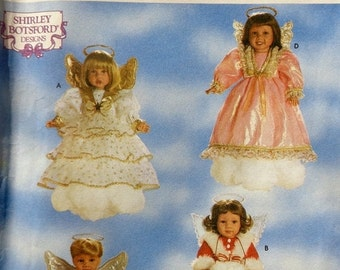 "50%OFF Simplicity Crafts 18"" Doll Clothes SHIRLEY BOTSFORD Angel Sewing Pattern 8478 Uncut - Fits American Girl Our Generation Carpatina Got"