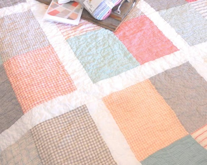 PDF Beachy quilt pattern...designed by Mickey Zimmer for Sweetwater Cotton Shoppe