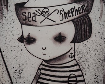 Sea Shepherd print