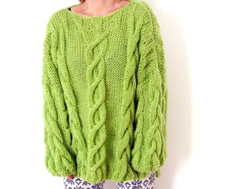 Cables and Braids Sweater.