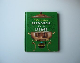 1965 Betty Crocker's Dinner in a Dish Cookbook, First Edition
