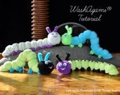 Washcloth Caterpillar, Ba...