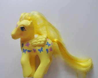 Vintage My Little Pony Dancing Butterflies Twice As Fancy Pegasus G1 1987