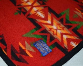 Pendleton Dog Coat Large Extra Large XL Native American RED design Pendleton Wool Dog Coat Jacket Sweater adjustable tribal bright colors