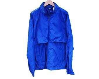 Vintage WOOLRICH Waterproof Raincoat Windbreaker Kagoul - L (25624)