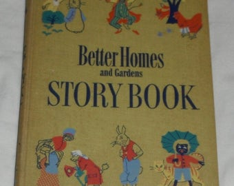 Better Homes and Gardens Story Book Vintage Hardcover 1950