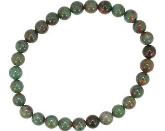 6mm Turquoise Stretch Bracelet, #6541