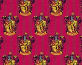 Custom Listing for angeliquemberry - Harry Potter - Gryffindor Emblem from Camelot Cottons - 1.5 yards