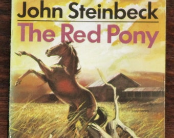Vintage John Steinbeck book The Red Pony