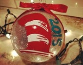 Dr. Seuss Themed Custom Christmas Ornament