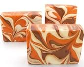 Pumpkin Sugar Olive Oil Formula Luxury Soap