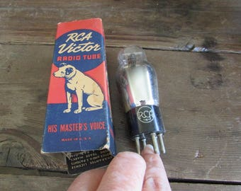 RCA Victor Radio Tube His Masters Voice