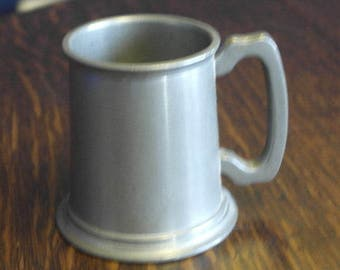 antique small pewter tankard